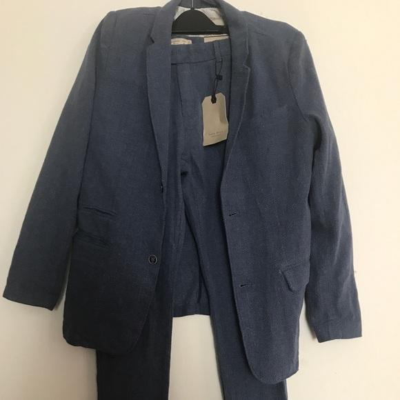 9e4f4271635 Zara linen suit♥ . M 5c163876baebf68b5f66188b